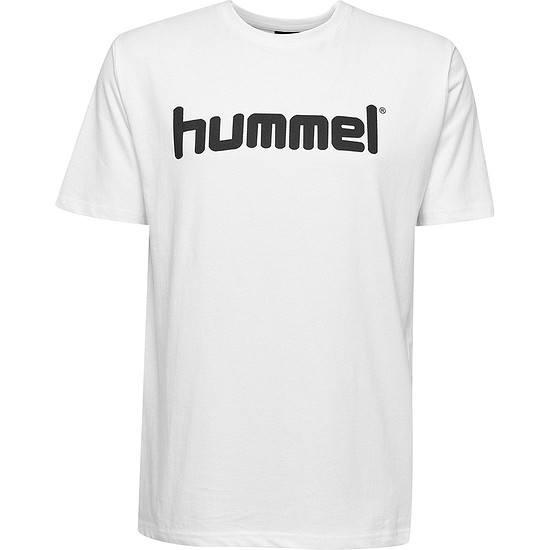hummel T-Shirt Go Cotton Logo weiß