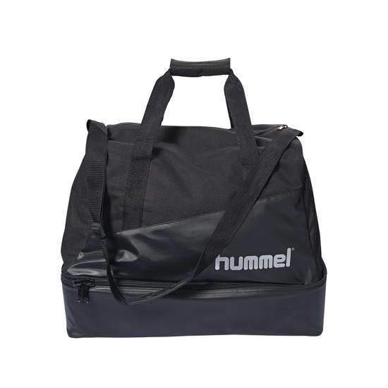 hummel Fußballtasche Authentic Charge schwarz