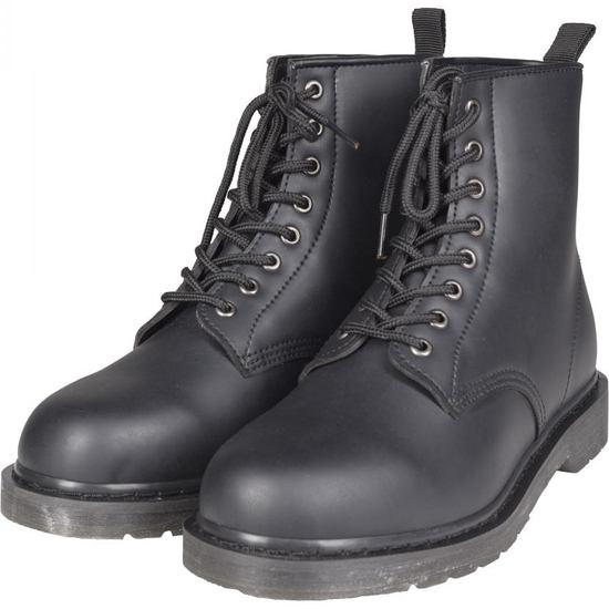 URBAN CLASSICS Boot Heavy Lace schwarz