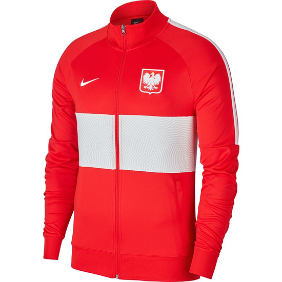 Nike Polen Track Jacket EM 2021 Rot