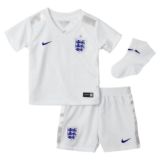Nike England Babykit Heim WM 2014 Kinder weiß/blau