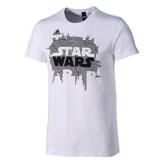 Adidas T-Shirt Star Wars weiß