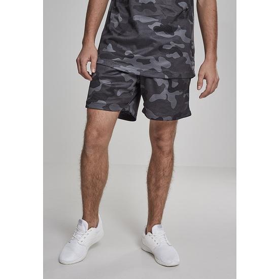 URBAN CLASSICS Shorts Camo Mesh olive