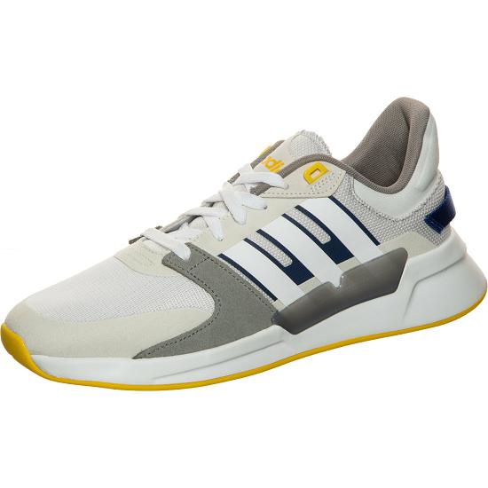 Adidas Sneaker Run90s grau/gelb