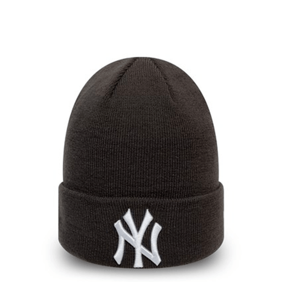 New Era New York Yankees Beanie League Essential Cuff grau