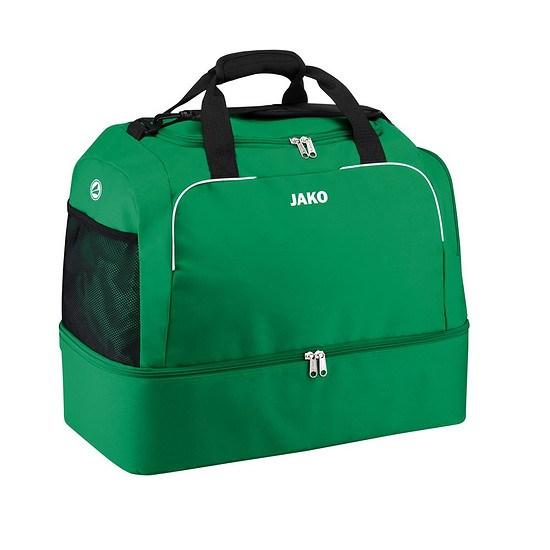 Jako Sporttasche Classico mit Bodenfach grün