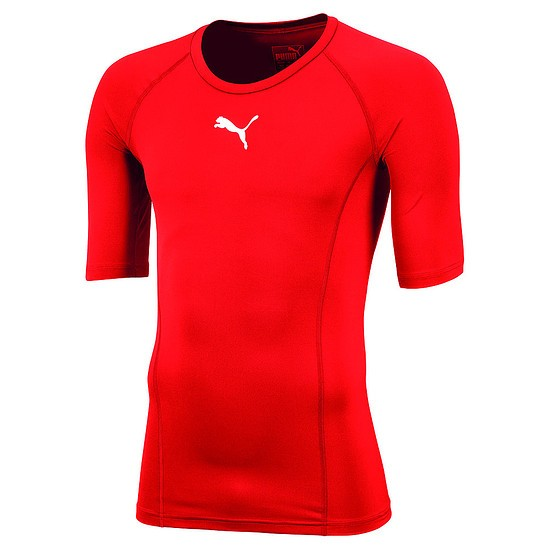 Puma T-Shirt LIGA Baselayer Rot
