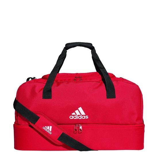 Adidas Sporttasche mit Bodenfach Tiro Größe M Rot