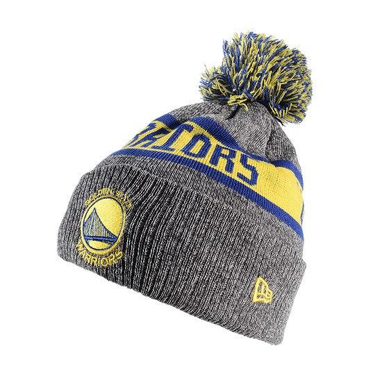New Era Golden State Warriors Beanie Marl Knit grau