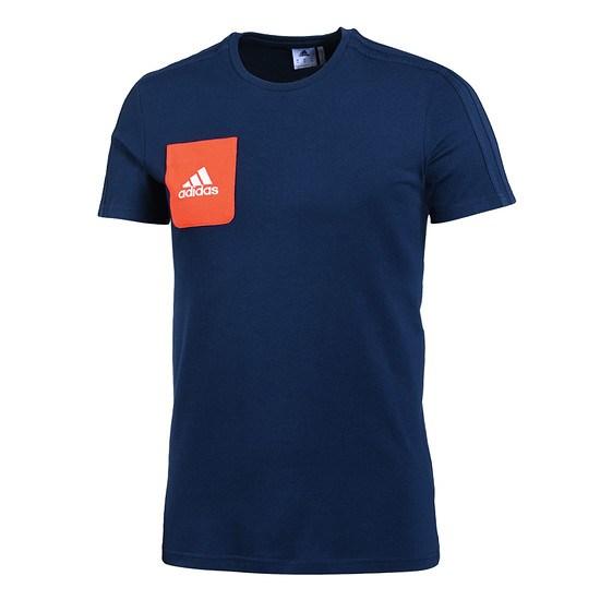 Adidas T-Shirt Tiro Dunkelblau