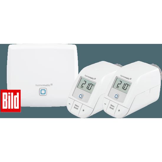 Homematic Smart Home IP Set Heizen - Bild-Edition Weiß