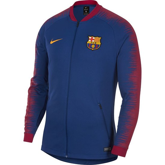 Nike FC Barcelona Anthem Jacket Blau