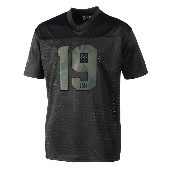 New Era Green Bay Packers Jersey Est. Date Camo schwarz