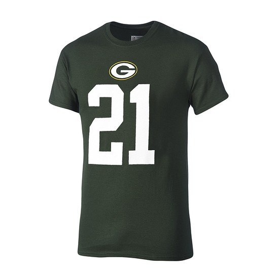 Majestic Athletic Green Bay Packers T-Shirt Clinton-Dix No 21 grün