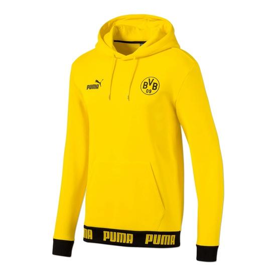 Puma Borussia Dortmund Hoodie Culture 2019/2020 Gelb