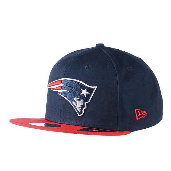 New Era New England Patriots Cap 9FIFTY Contrast Team blau