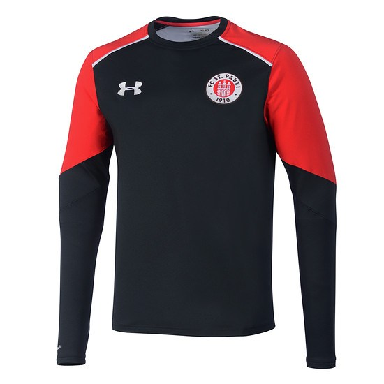 Under Armour FC St. Pauli Trainingstop Midlayer schwarz