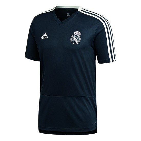 Adidas Real Madrid Trainingsshirt Grau