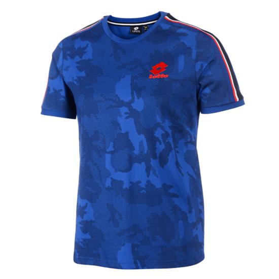 Lotto T-Shirt Athletica III STP PRT royal