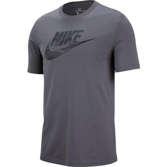 Nike T-Shirt SWOOSH CAMO Grau