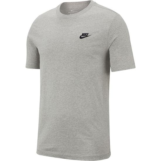 Nike T-Shirt Klassik Grau/Schwarz