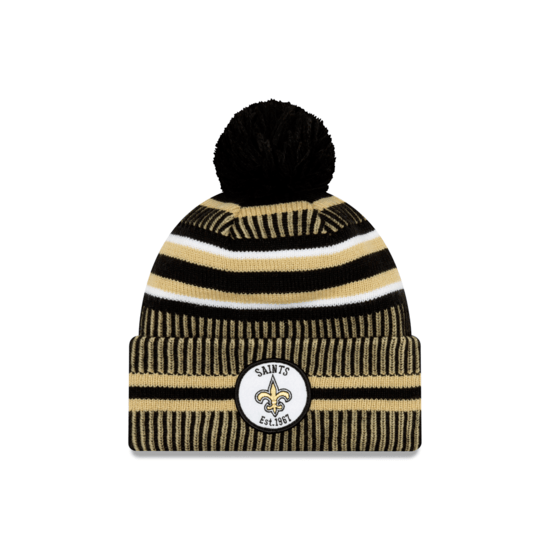 New Era New Orleans Saints Beanie On Field Sport Knit HM schwarz