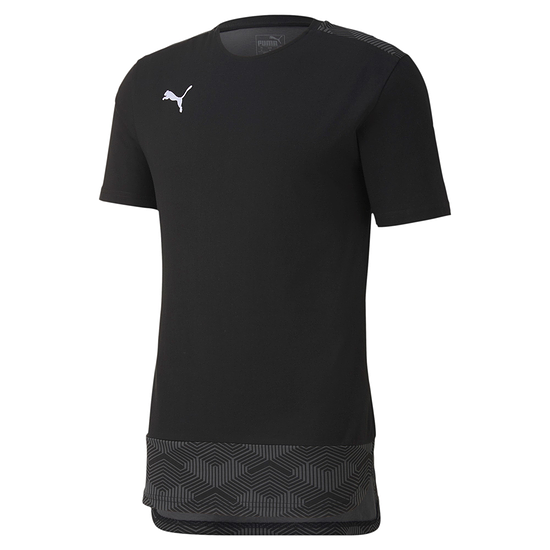 Puma T-Shirt Team FINAL 21 Schwarz