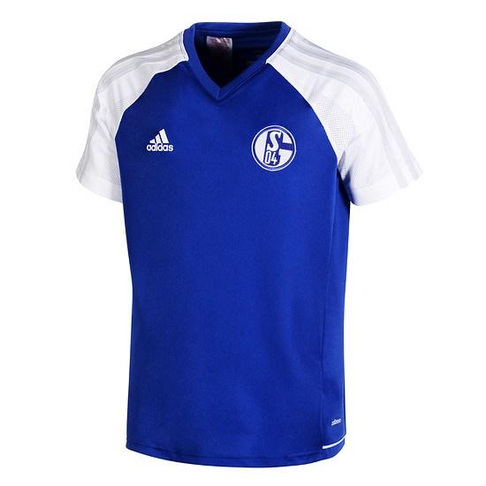 Adidas FC Schalke 04 Trainingsshirt Basic Kinder
