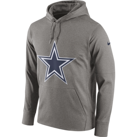 Nike Dallas Cowboys Hoodie Perfect Circle grau