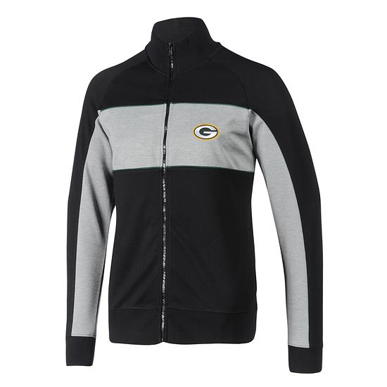 Fanatics Green Bay Packers Track Jacke Cut & Sew schwarz