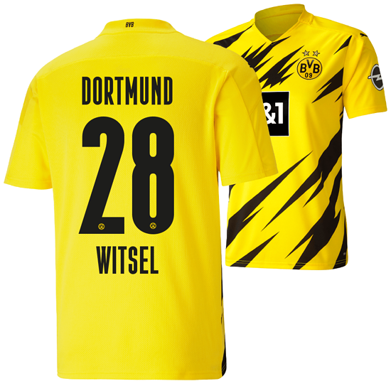 Puma Borussia Dortmund Heim Trikot WITSEL 2020/2021 Kinder