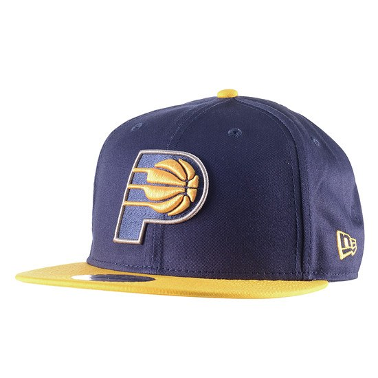 New Era Indiana Pacers Cap Team 9Fifty blau/gold