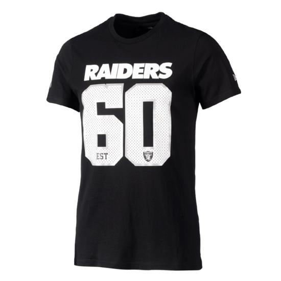New Era Las Vegas Raiders T-Shirt Supporters 2019 schwarz