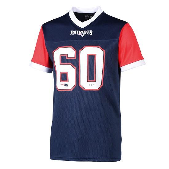 New Era New England Patriots T-Shirt Tri Colour blau