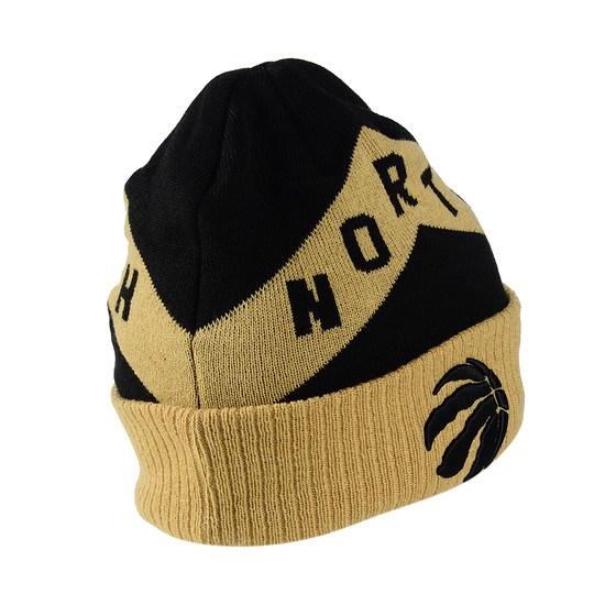 New Era Toronto Raptors Beanie Knit schwarz