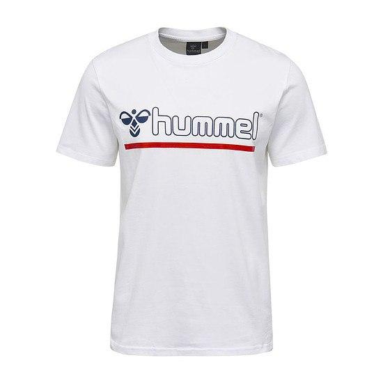 hummel T-Shirt Brick weiß