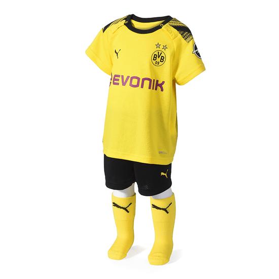 Puma Borussia Dortmund Trikot 2019/2020 Heim Baby Kit