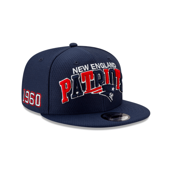 New Era New England Patriots Cap Sideline 9FIFTY blau