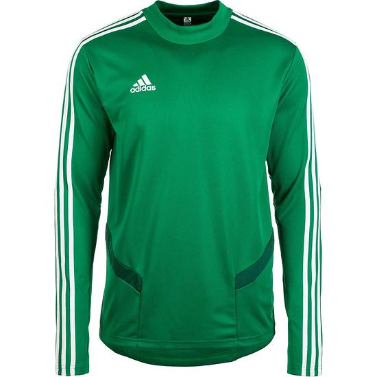 Adidas Trainingsshirt Langarm Tiro 19 Grün