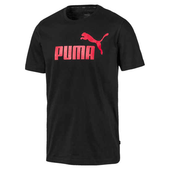 Puma T-Shirt ESS No.1 Black