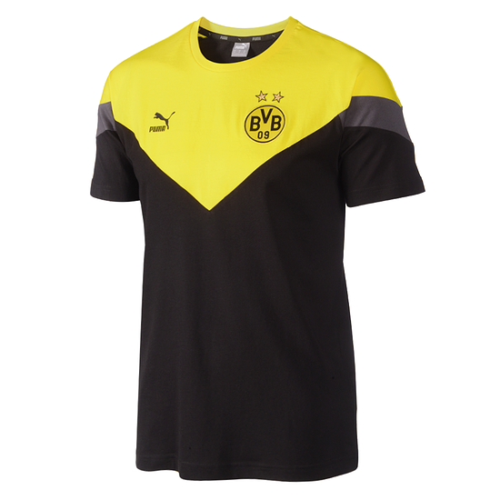 Puma Borussia Dortmund T-Shirt Grafik 2019/2020 Schwarz