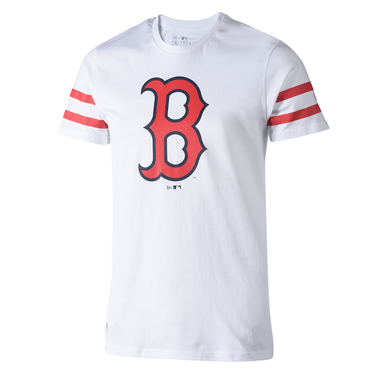 New Era Boston Red Sox T-Shirt Team Logo weiß