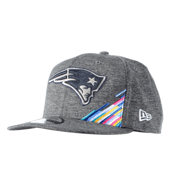 New Era New England Patriots Cap Crucial Catch 9FIFTY grau