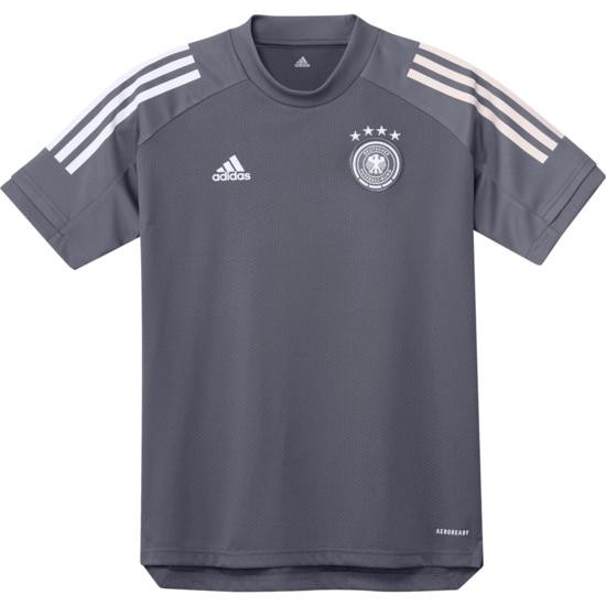 Adidas Deutschland DFB Training-Shirt EM 2021 Kinder Dunkelgrau