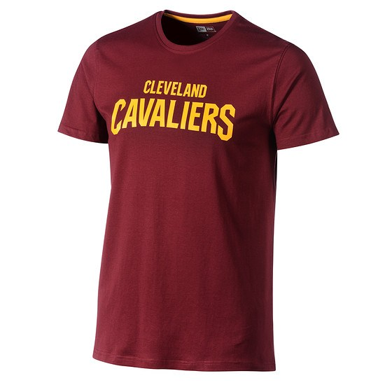 New Era Cleveland Cavaliers T-Shirt Pop Logo rot