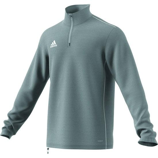 Adidas Trainingsshirt Langarm Core 18 Grau