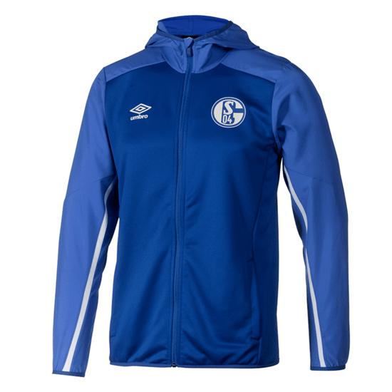 Umbro FC Schalke 04 Kapuzenjacke 2019/2020 Blau