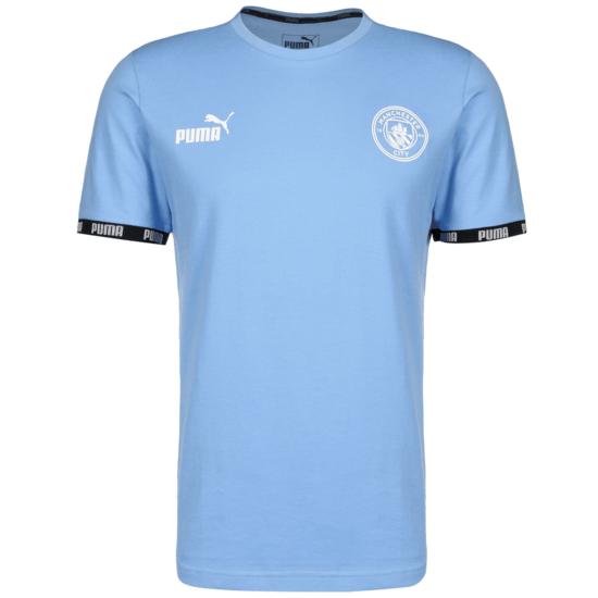 Puma Manchester City FtblCulture T- T-Shirt FtblCulture hellblau