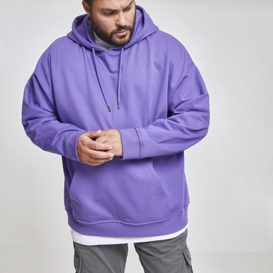 URBAN CLASSICS Hoodie Oversized Sweat ultraviolett