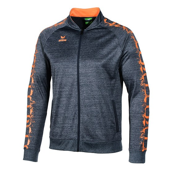 Erima Trainingsjacke GRAFFIC 5-C navy/orange